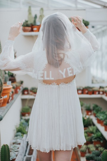 Festival Bridal Style For The Rock And Roll Bride 21