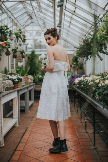 Festival Bridal Style For The Rock And Roll Bride 68