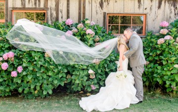 Fun & Sunny California Barn Wedding