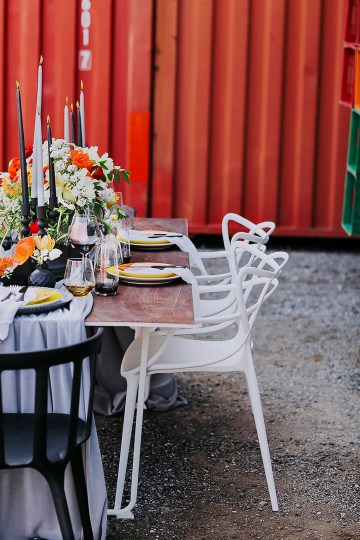 Stylish, Cool & Colorful Shipping Container Styled Shoot | Olive Studio 6