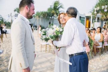 The Dreamiest Sunset Beach Wedding in Thailand   Darin Images 10