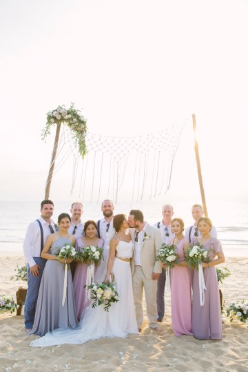 The Dreamiest Sunset Beach Wedding in Thailand   Darin Images 40