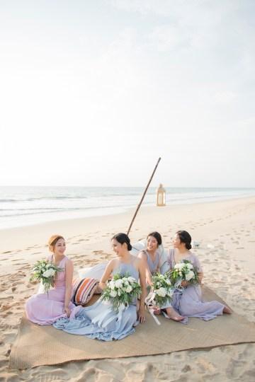 The Dreamiest Sunset Beach Wedding in Thailand   Darin Images 42