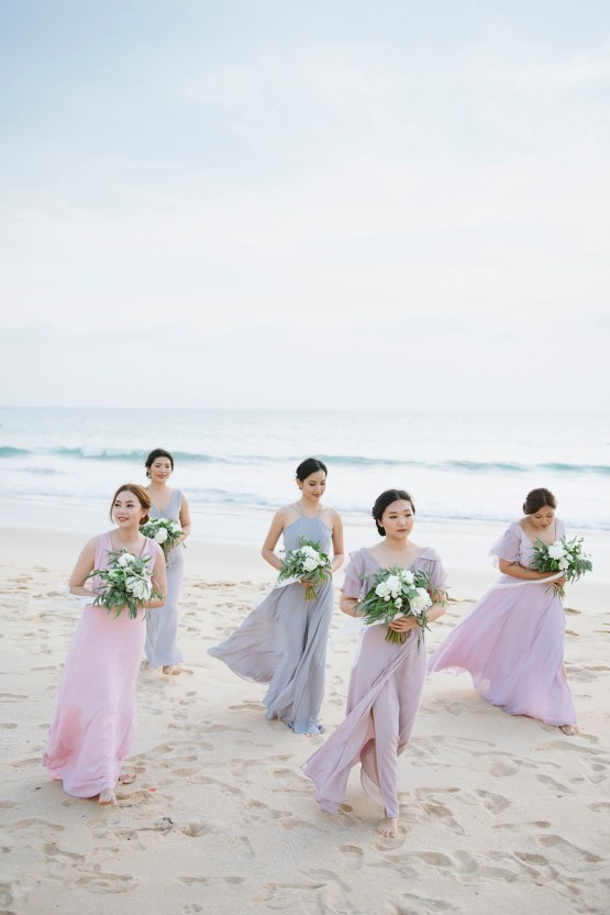 The Dreamiest Sunset Beach Wedding in Thailand | Darin Images 43