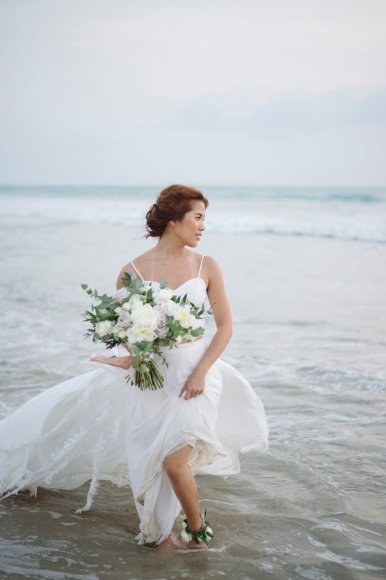 The Dreamiest Sunset Beach Wedding in Thailand | Darin Images 48