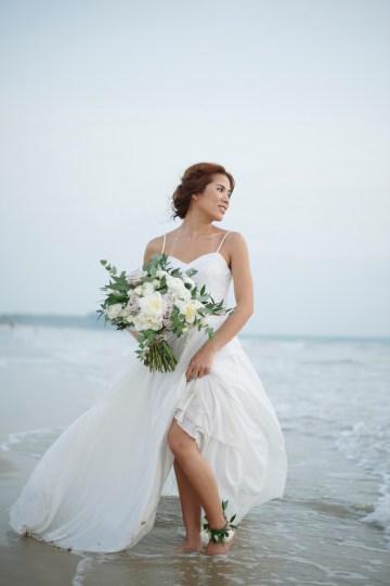 The Dreamiest Sunset Beach Wedding in Thailand   Darin Images 49