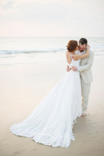 The Dreamiest Sunset Beach Wedding in Thailand   Darin Images 54