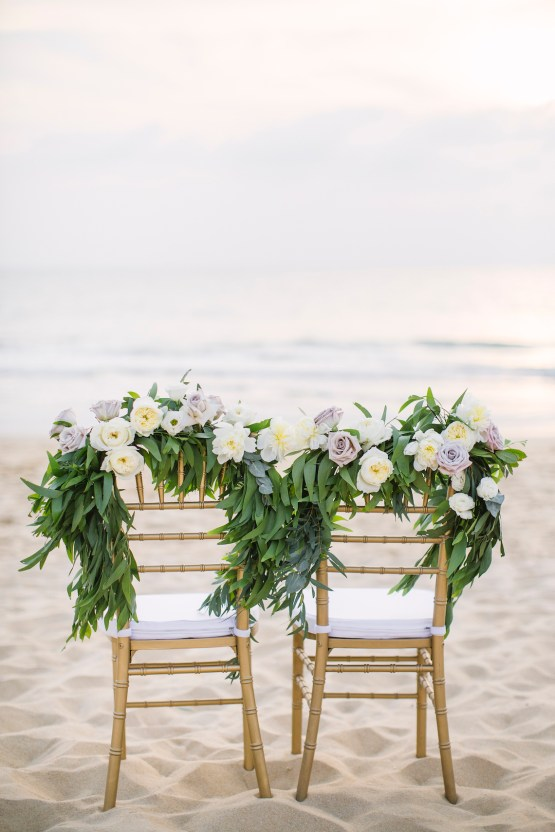 The Dreamiest Sunset Beach Wedding in Thailand | Darin Images 57