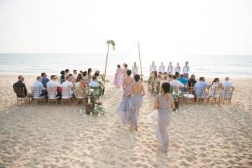 The Dreamiest Sunset Beach Wedding in Thailand   Darin Images 9