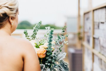 The Sweetest Autumnal Elopement Inspiration (On A Rooftop!) | Rachel Brown Kulp Photography 12