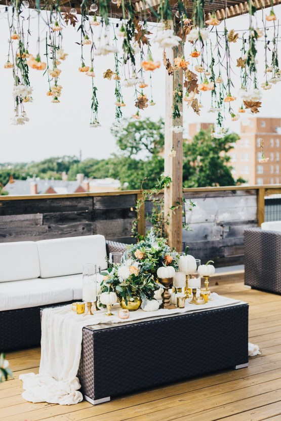 The Sweetest Autumnal Elopement Inspiration (On A Rooftop!) | Rachel Brown Kulp Photography 32