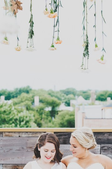 The Sweetest Autumnal Elopement Inspiration (On A Rooftop!) | Rachel Brown Kulp Photography 45