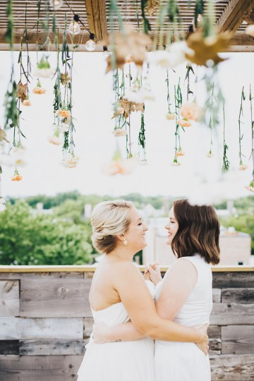 The Sweetest Autumnal Elopement Inspiration (On A Rooftop!) | Rachel Brown Kulp Photography 48