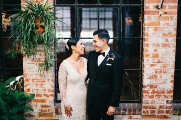 Warm Winter Wedding in a Hidden Los Angeles Italian Villa | Amanda McKinnon 10