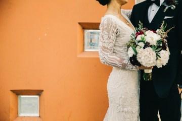 Warm Winter Wedding in a Hidden Los Angeles Italian Villa | Amanda McKinnon 19