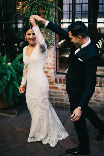 Warm Winter Wedding in a Hidden Los Angeles Italian Villa | Amanda McKinnon 36