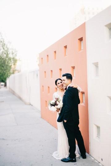Warm Winter Wedding in a Hidden Los Angeles Italian Villa | Amanda McKinnon 42