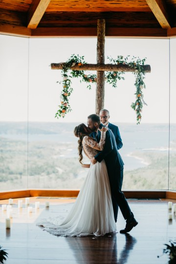Boho Ozarks Wedding in an Magnificent Hilltop Chapel | Unveiled Radiance Photography 19