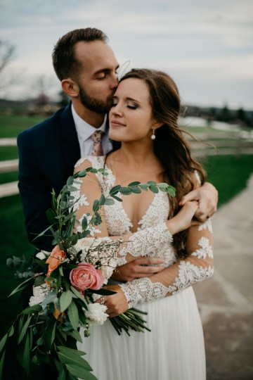 Boho Ozarks Wedding in an Magnificent Hilltop Chapel | Unveiled Radiance Photography 30