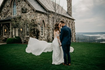 Boho Ozarks Wedding in an Magnificent Hilltop Chapel | Unveiled Radiance Photography 8