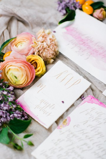 Bright & Colorful Wedding Inspiration With An Incredible Floral Dress | Rosencrown Photography 15