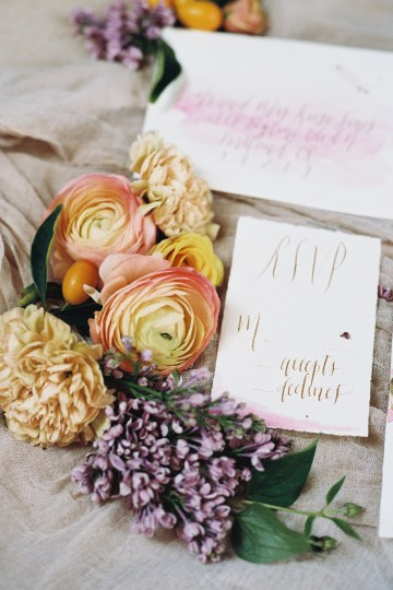 Bright & Colorful Wedding Inspiration With An Incredible Floral Dress | Rosencrown Photography 32