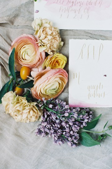 Bright & Colorful Wedding Inspiration With An Incredible Floral Dress | Rosencrown Photography 44