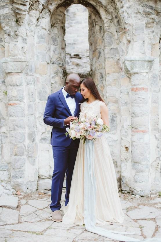 Calm, Ethereal & Romantic Lake Como Wedding Inspiration | Valentina Operandi 35