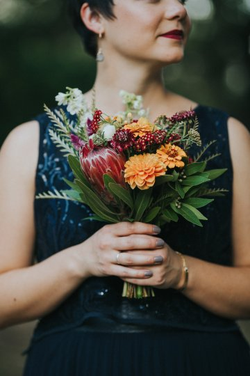 Colorful & Eclectic Americana Wedding in Texas | Amber Vickery Photography 41