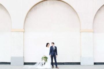 Colorful Rooftop Wedding With Geometric Modern Designs | Christian + Reinna Cruz 36