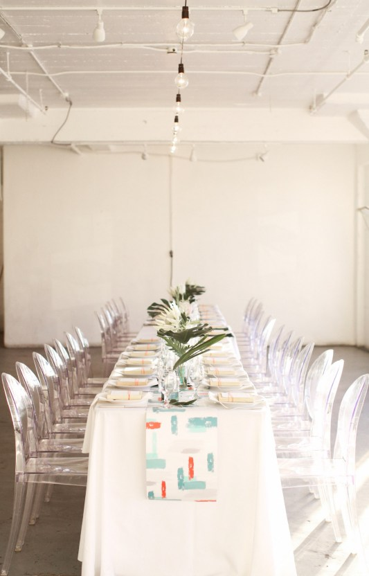 Colorful Rooftop Wedding With Geometric Modern Designs   Christian + Reinna Cruz 58
