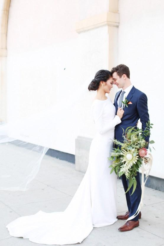 Colorful Rooftop Wedding With Geometric Modern Designs   Christian + Reinna Cruz 70