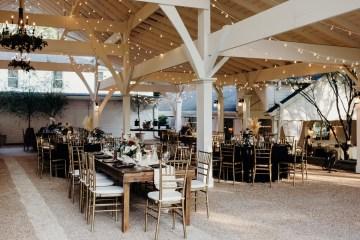 Cool Pampas Grass Wedding With Deep Berry Tones | Cedarwood Weddings 10