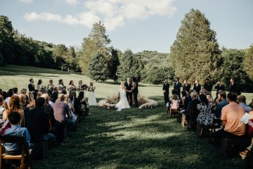 Cool Pampas Grass Wedding With Deep Berry Tones | Cedarwood Weddings 20