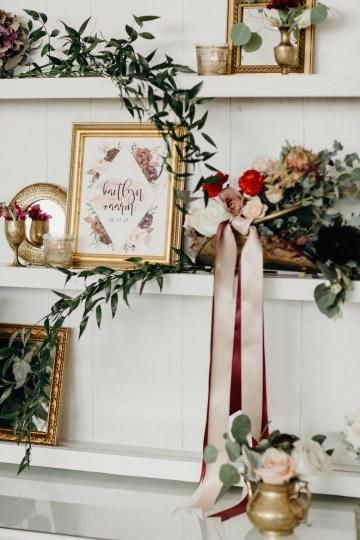 Cool Pampas Grass Wedding With Deep Berry Tones | Cedarwood Weddings 45