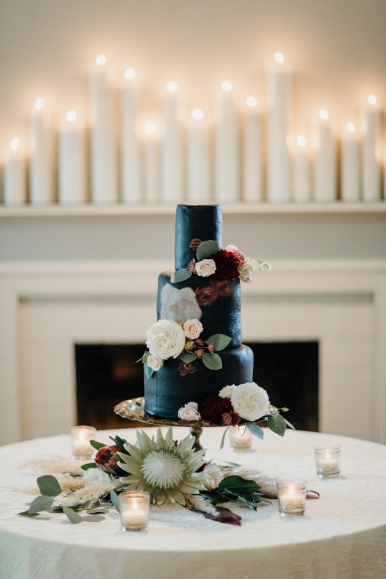 Cool Pampas Grass Wedding With Deep Berry Tones | Cedarwood Weddings 47