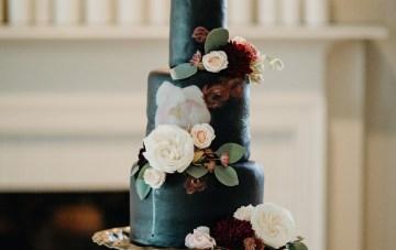 Cool Pampas Grass Wedding With Deep Berry Tones | Cedarwood Weddings 49