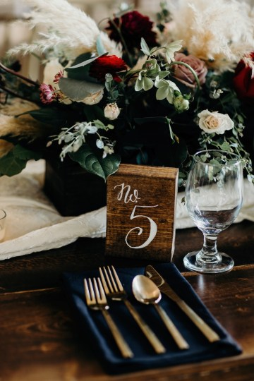 Cool Pampas Grass Wedding With Deep Berry Tones | Cedarwood Weddings 61