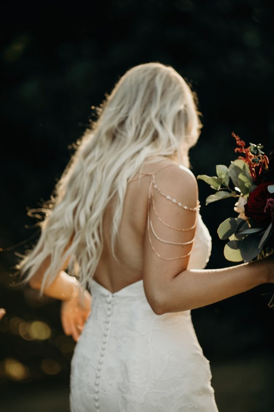 Cool Pampas Grass Wedding With Deep Berry Tones | Cedarwood Weddings 79