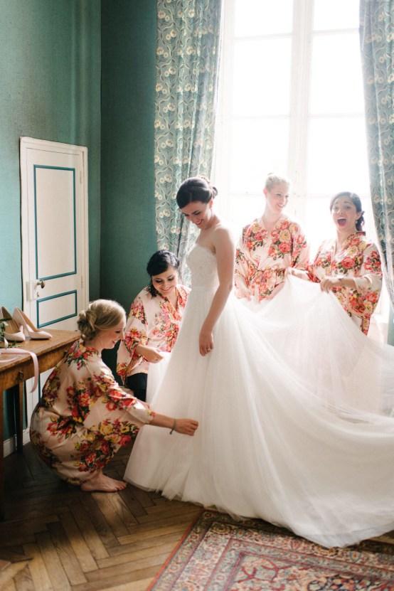 Dreamy Pink Wedding In France | Marion Heurteboust 21