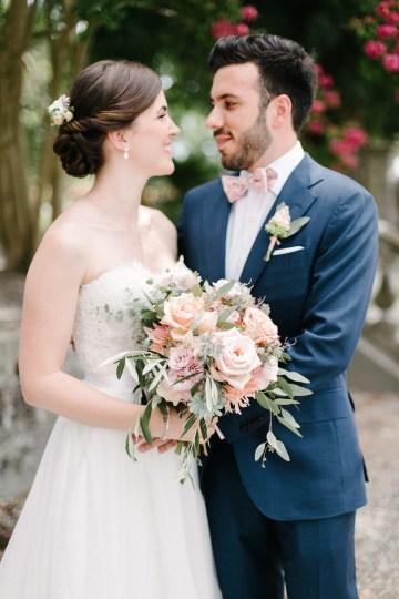 Dreamy Pink Wedding In France | Marion Heurteboust 29