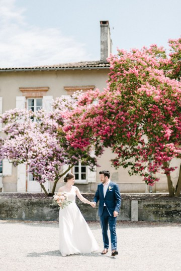 Dreamy Pink Wedding In France | Marion Heurteboust 30