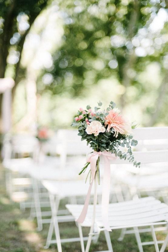 Dreamy Pink Wedding In France | Marion Heurteboust 35