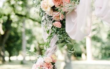 Dreamy Pink Wedding In France | Marion Heurteboust 37