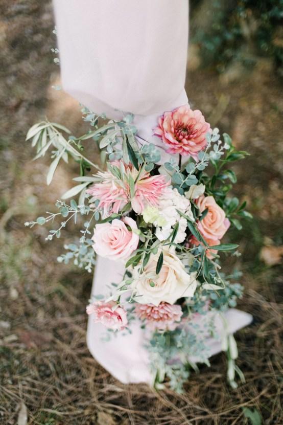 Dreamy Pink Wedding In France | Marion Heurteboust 38
