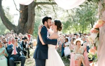 Dreamy Pink Wedding In France | Marion Heurteboust 44