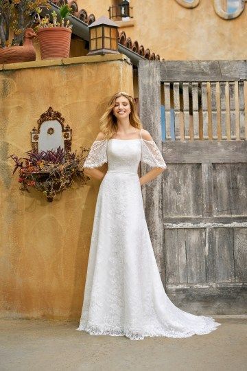 How To Choose The Right Wedding Dress For Your Body Shape | Simply Val Stefani Moonlight Bridal 25