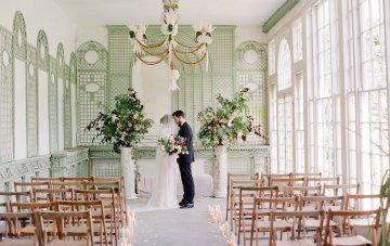 Opulent Wedding Romance In A Historic English Estate