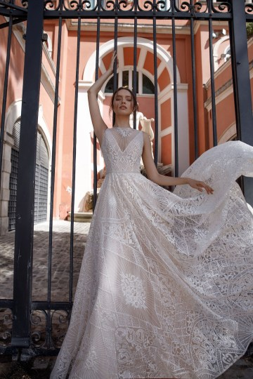 The Glamourous & Luxurious Ever After Wedding Dress Collection By Birenzweig 5
