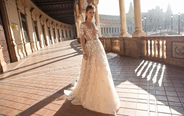 World Exclusive: The Sparkling & Spectacular Berta Seville Wedding Dress Collection